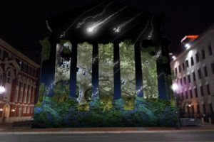 LUNA Fete sets Gallier Hall aglow