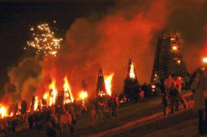 Naveen Kailas bonfires levee