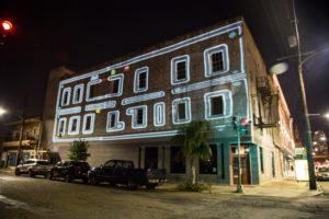 Pac-Man -inspired LUNA Fete installation